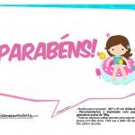 Plaquinhas Pool Party Meninas 7