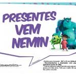 Plaquinhas Monstros SA 10