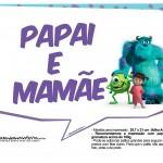 Plaquinhas Monstros SA 13