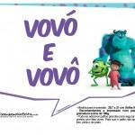 Plaquinhas Monstros SA 14