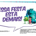 Plaquinhas Monstros SA 30
