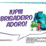 Plaquinhas para Festa Monstros SA 4