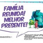 Plaquinhas para Festa Monstros SA 6