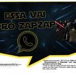 Plaquinhas para Festa Star Wars 1