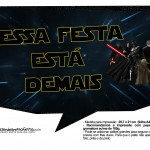 Plaquinhas para Festa Star Wars 17