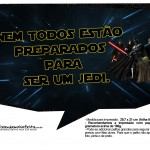 Plaquinhas para Festa Star Wars 3