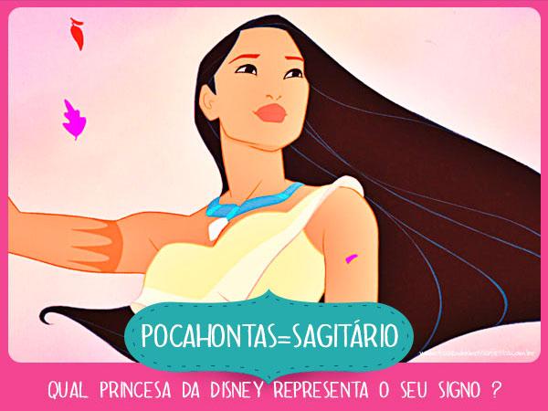 Pocahontas Sagitário