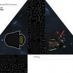 Porta Guardanapos 2 Star Wars