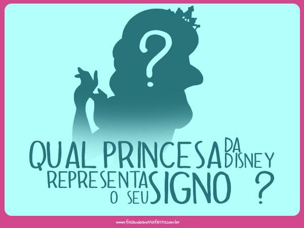 Qual Princesa da Disney representa o seu Signo ?