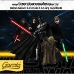Rótulo Batom Garoto Star Wars