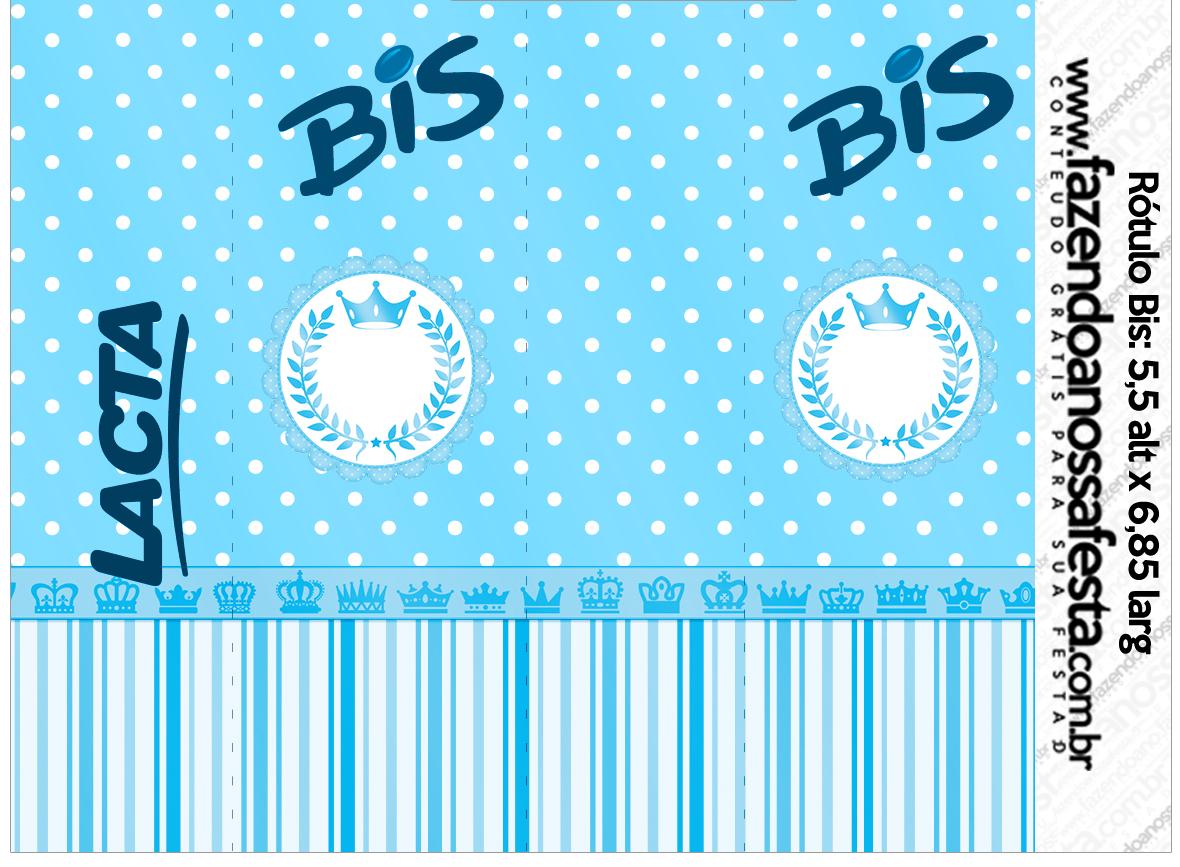 Rótulo Bis Realeza Azul
