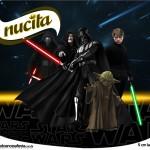 Rótulo Creminho Nucita Star Wars