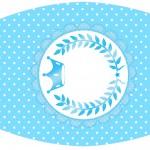 Rótulo Esmalte Realeza Azul