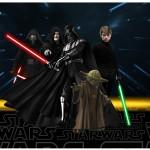 Rótulo Lata de Leite Star Wars
