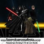 Rótulo Passatempo Star Wars