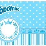 Rótulo Toddynho Realeza Azul