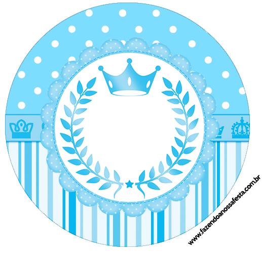Rótulo Tubetes, Latinhas Realeza Azul