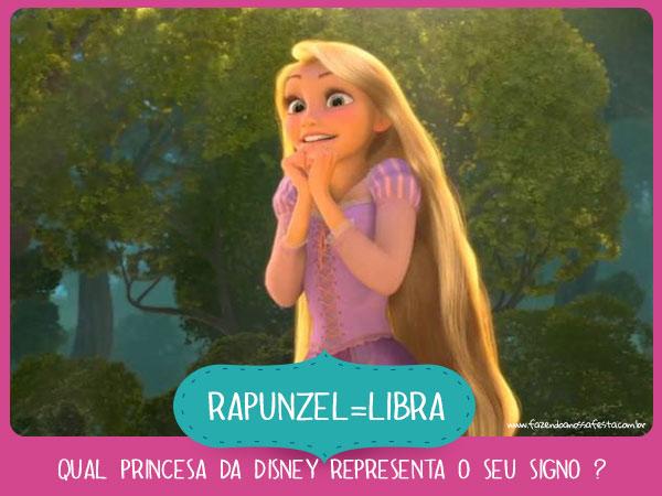 Rapunzel de Libra - Qual princesa da Disney representa o seu
