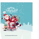 Sacolinha Natal Boneco de Neve - A4 Parte 1