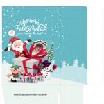 Sacolinha Natal Boneco de Neve - A4 Parte 2