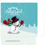 Sacolinha Surpresa Boneco de Neve - A4 Parte 1