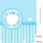 Sacolinha Surpresa Realeza Azul - Parte 1