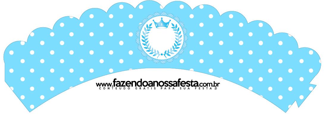 Saias Wrappers Realeza Azul 2