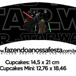 Saias Wrappers para Cupcakes Star Wars