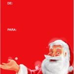 Tags de Natal Papai Noel 2