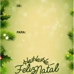 Tags para Presente de Natal 2