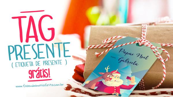 Tags para Presente de Natal para Imprimir Gratis3