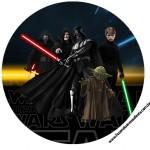 Toppers para docinhos Kit Festa Star Wars
