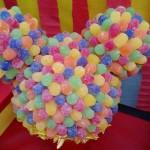 Toppiaria de balas Festa Mickey do Nicolas