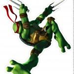 Toten de Mesa Tartarugas Ninjas Raphael Parte 1
