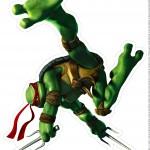 Toten de Mesa Tartarugas Ninjas Raphael Parte 2