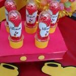 Tubetes Festa Mickey do Nicolas