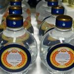 Água Festa Coroa de Príncipe Azul Marinho do Fabrício