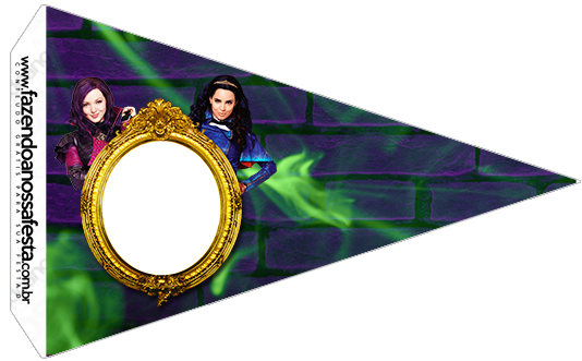 Bandeirinha Sanduiche 7 Descendentes