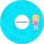 CD DVD Pool Party Menina Loira