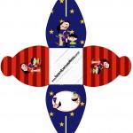 Caixa 2 Show da Luna Azul e Vermelho