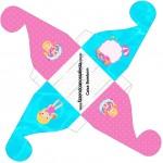 Caixa Bombom Pool Party Menina Loira 2