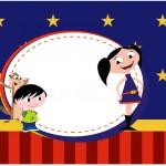 Caixa Bombom Show da Luna Azul e Vermelho