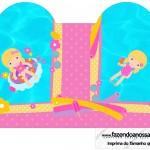 Caixa Coração Pool Party Menina Loira
