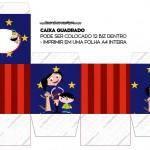 Caixa bis Show da Luna Azul e Vermelho