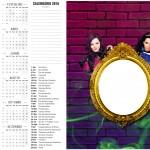 Calendario 2016 Descendentes