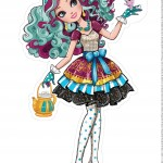 Centro de Mesa ever after high madeline hatter 2--1