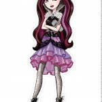 Centro de Mesa ever after high raven queen 1-1