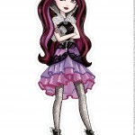 Centro de Mesa ever after high raven queen 2-1