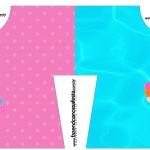 Convite Camisa Pool Party Menina Loira