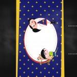 Convite Chalkboard Show da Luna